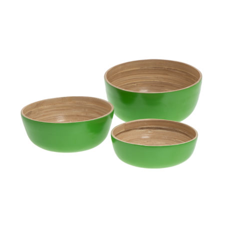 Bamboo Garden Bowls