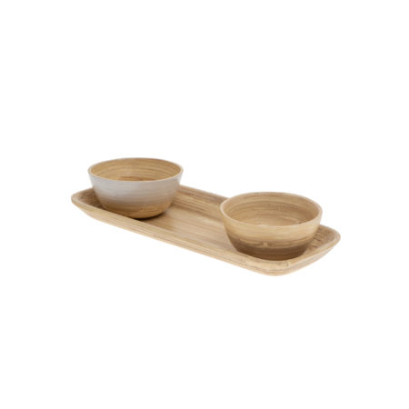 Bamboo Plate classic & natural