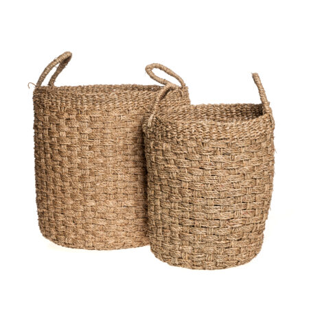 FULL WOVEN SEAGRASS BASKET